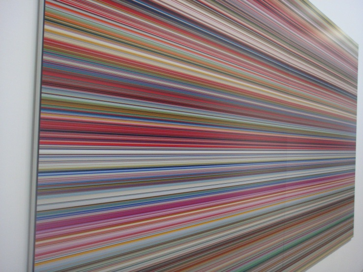 Gerhard Richter at Centre Pompidou (Strip, 2011)