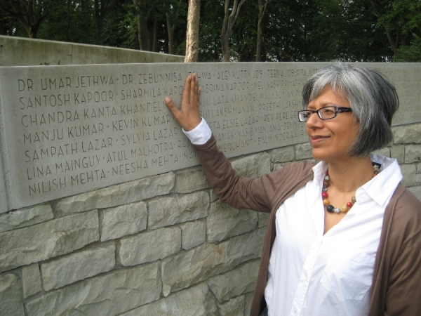 Saklikar Air India Remembrance Stanley Park