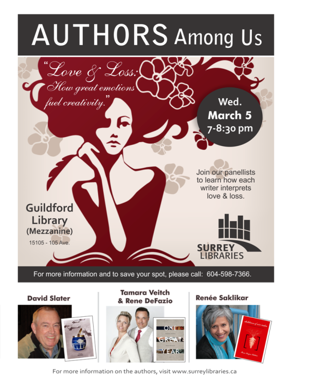 Authors Among Us Surrey Libraries