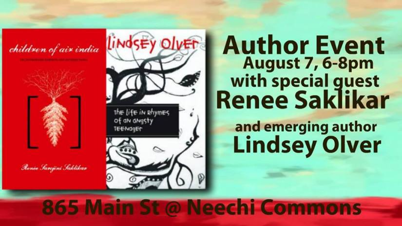 Neechi Commons Reading with Lindsey Olver August 7