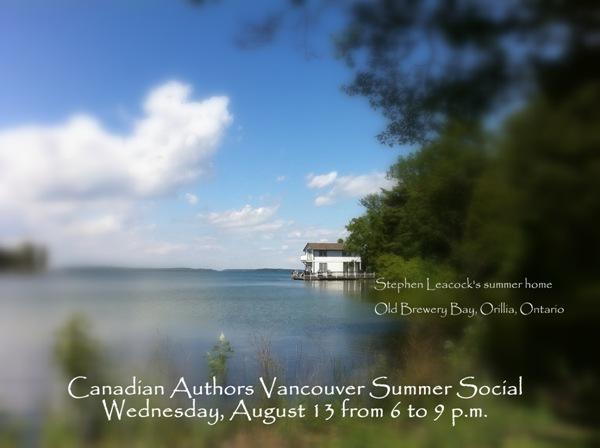Canadian Authors Association Summer Social 2014