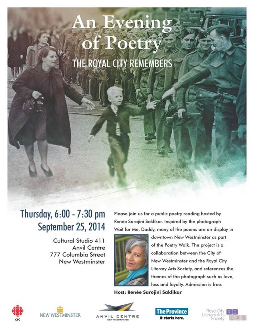 An Evening of Poetry The Royal City Remembers