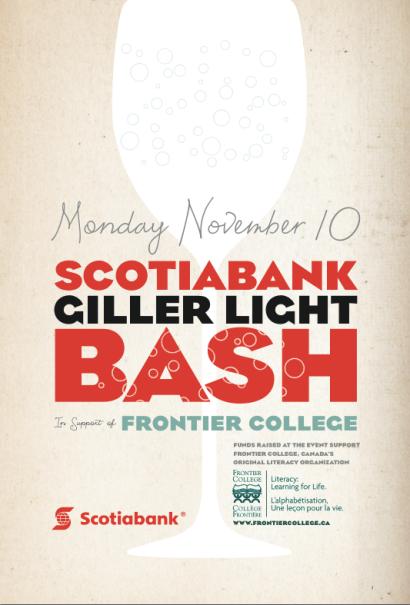 Scotiabank Giller Light Bash