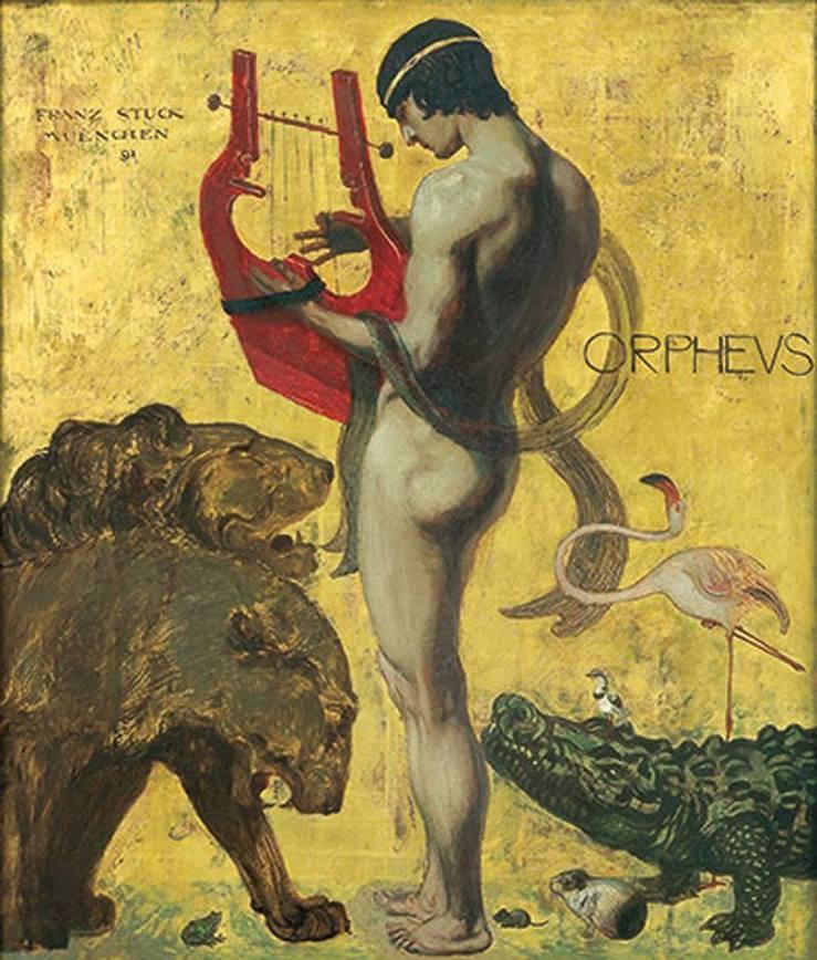 Orpheus - Franz Von Stuck