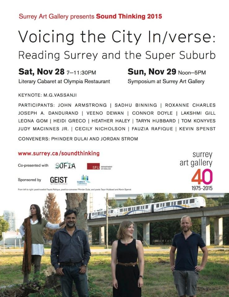 The City In-Verse - Surrey Art Gallery