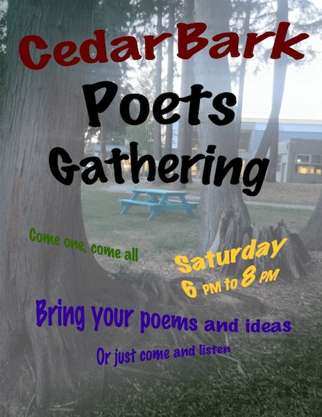 Cedar Bark Poets