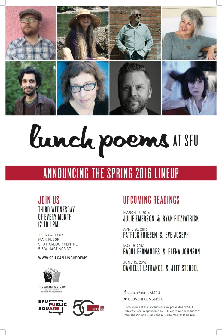 Lunch Poems Poster-2016 spring roster