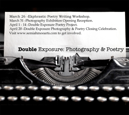 Double Exposure Photography and Poetry