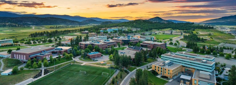 UBC Okanagan Campus.