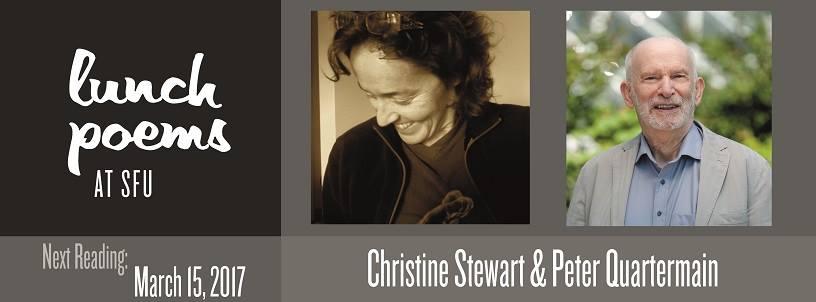 Christine Stewart & Peter Quartermain