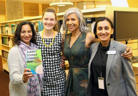 Surrey Stories Connect Book Launch