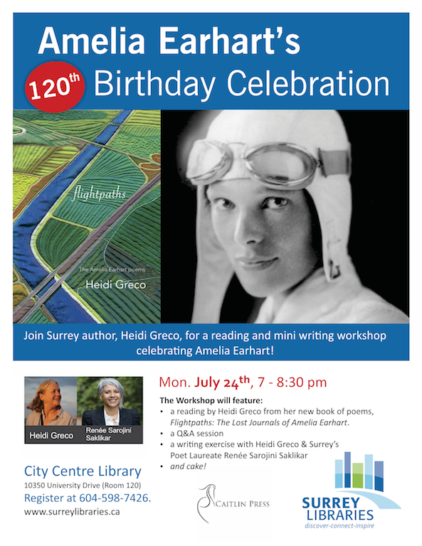Amelia Earhart 120 Birthday Celebration