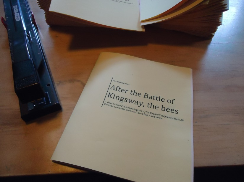 After the battle of kingsway, the bees
