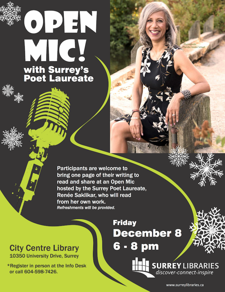 Poet Laureate Open Mic.CC.Dec.2017