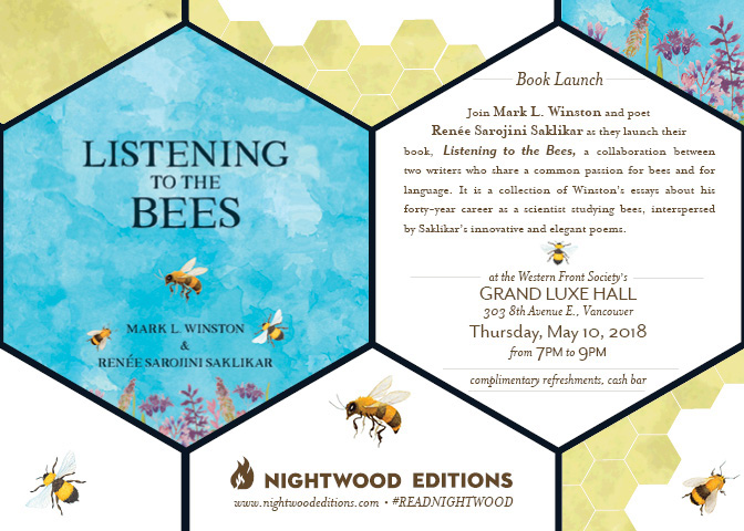 Listening to the Bees Vancouver Book Launch