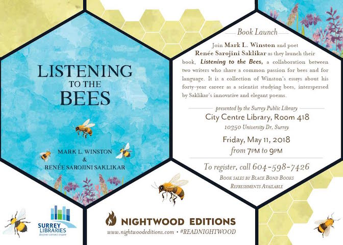 Listening to the Bees Book Launch Surrey