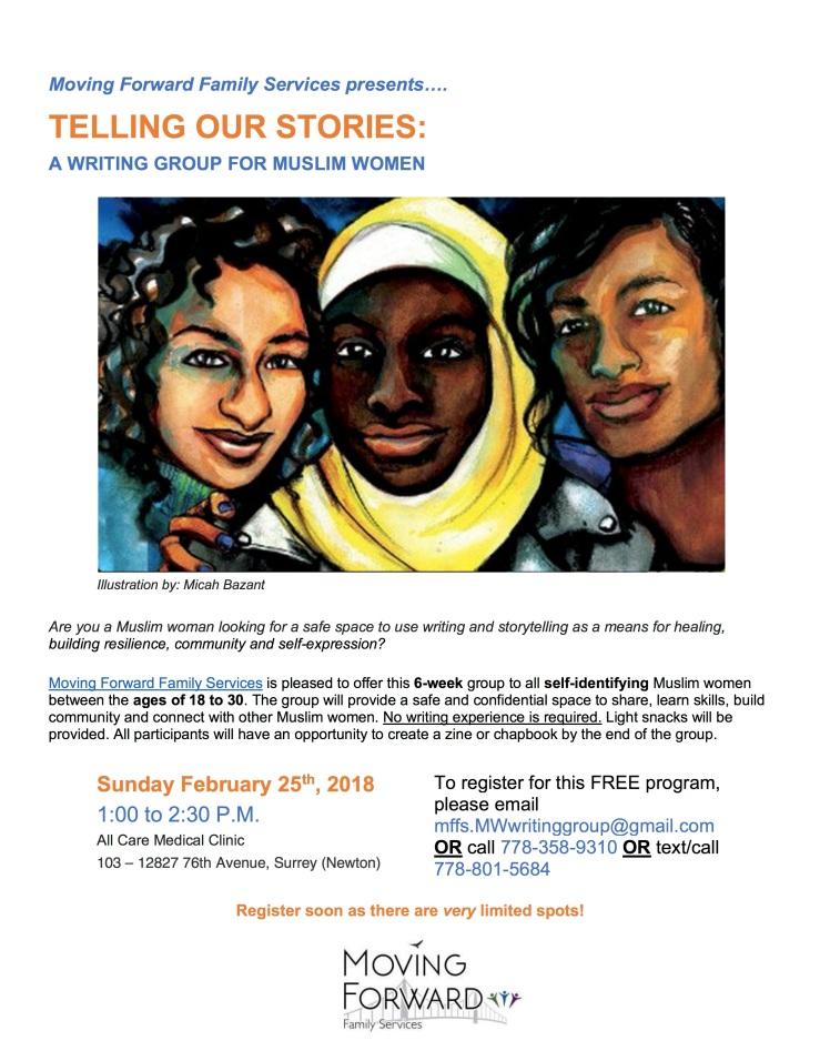 Writing Group for Muslim Women