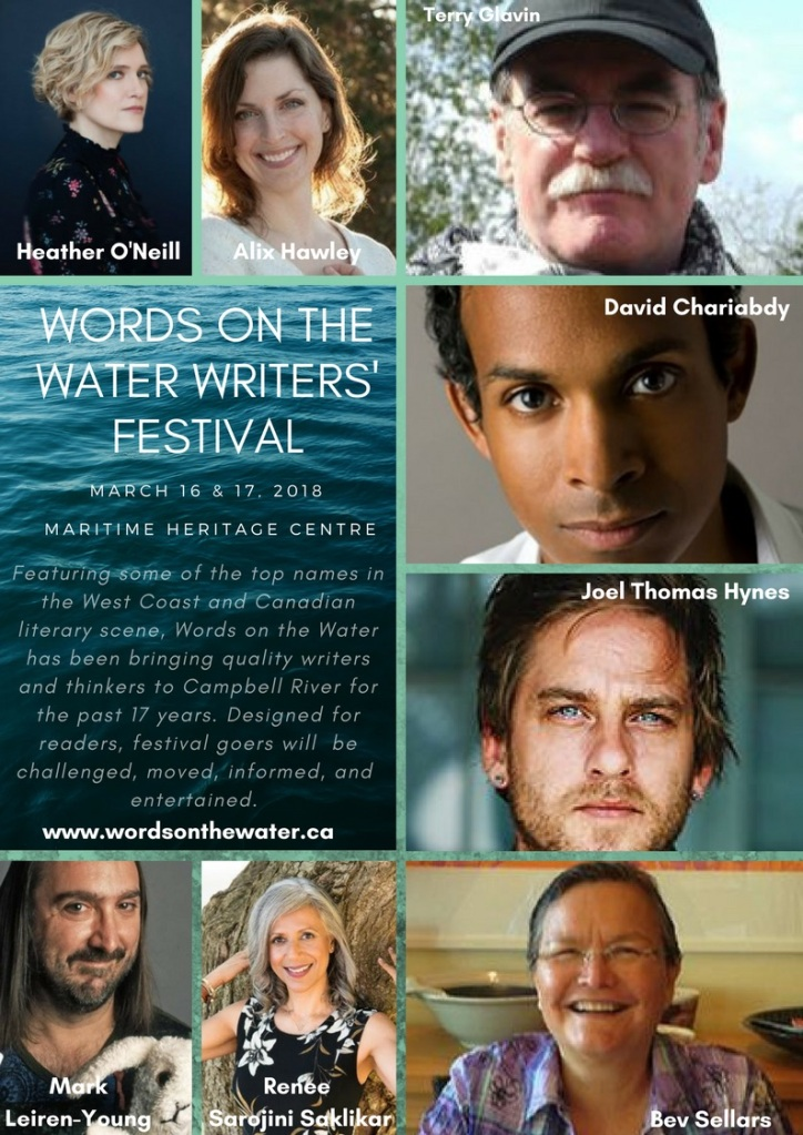 Words on the Water Writers Festival 2018