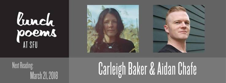 Lunch Poems Carleigh Baker and Aidan Chafe