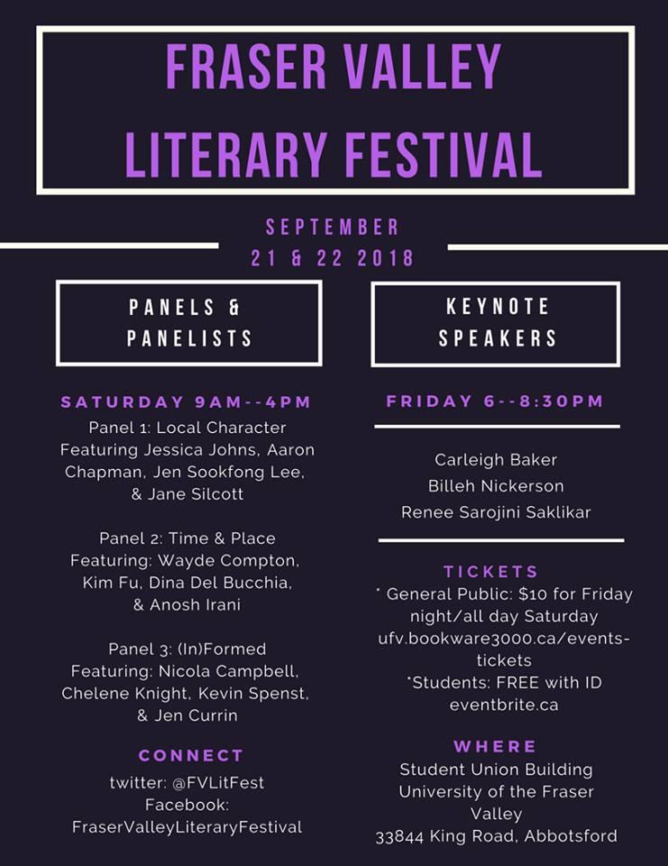 Fraser Valley Literary Festival