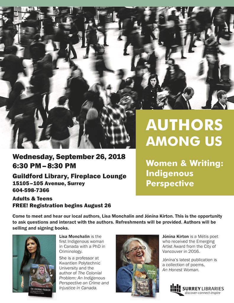 Authors Among Us Sep 2018