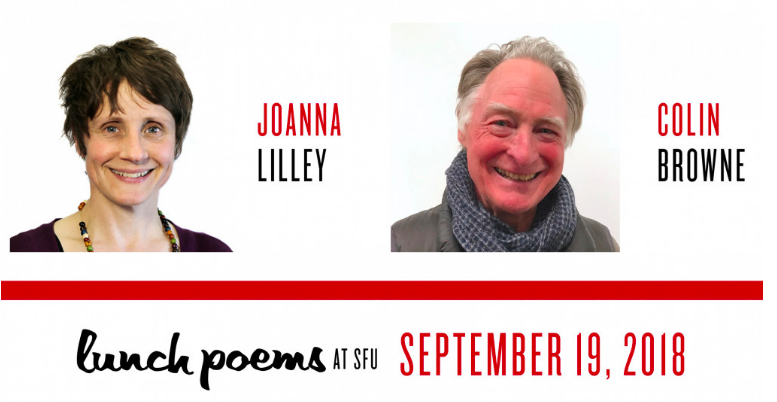 SFU Lunch Poems Lilley Browne