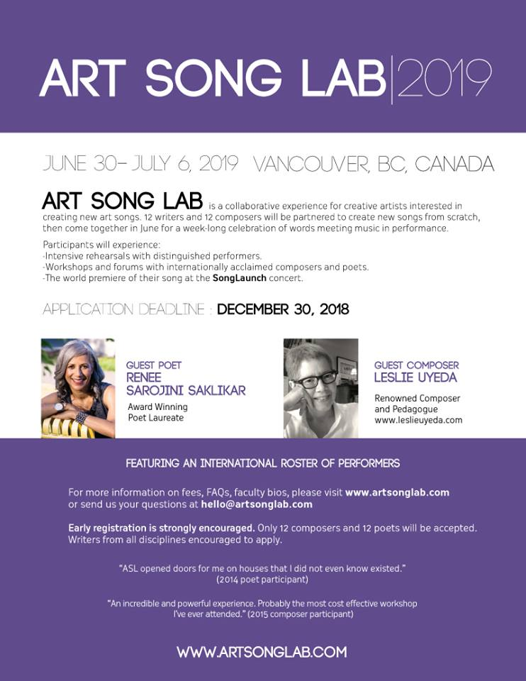 art song lab 2019