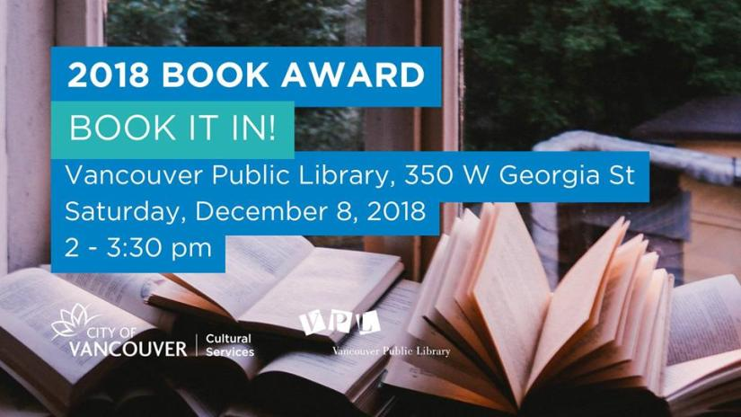 Vancouver Book Awards 2018