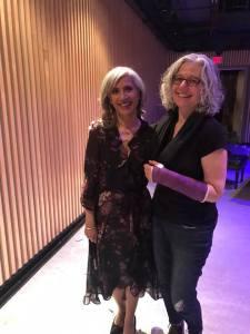With Christine Leviczky Riek