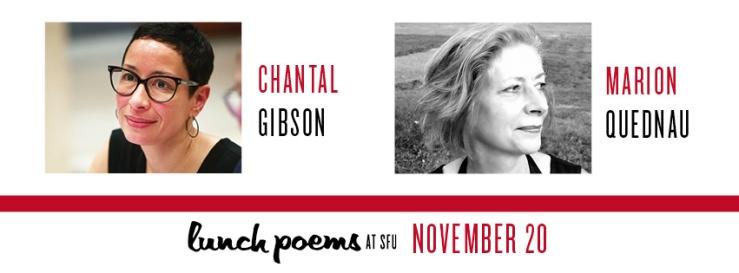 Lunch Poems November 2019